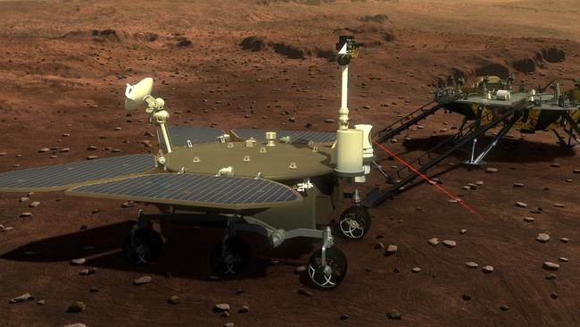 China unveils Mars rover concept due to launch in 2020