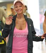 <p>Tara Reid arrives Sydney airport</p>