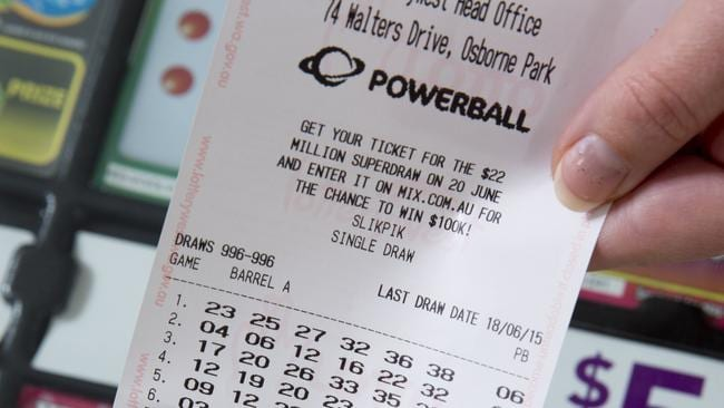 WA has recorded another Powerball winner. Have you checked your ticket? Photo: Lotterywest PerthNow Generic Image.