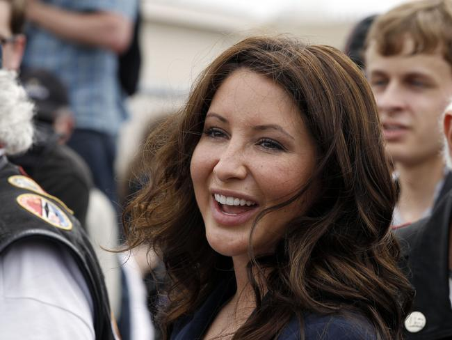 Fists flying...Bristol Palin allegedly threw punches at the host in a fight over her sister. Picture: AP