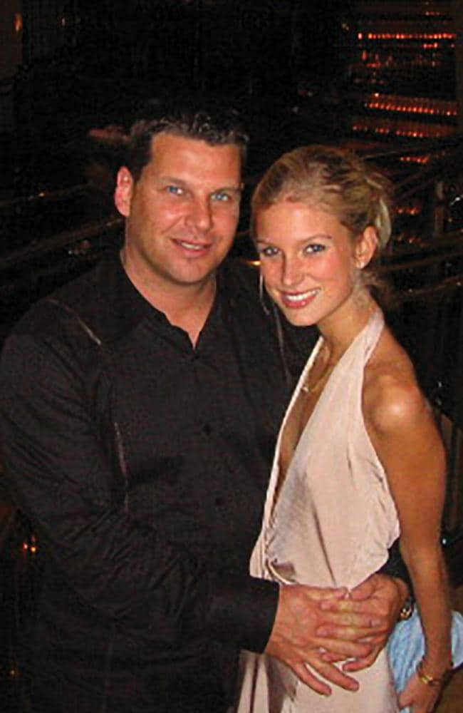 Steven Spaliviero and Charlotte Lindstrom in 2006, before both were imprisoned on conspiracy to murder charges.