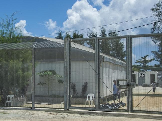 Manus Island detention centre: Picture: News Corp