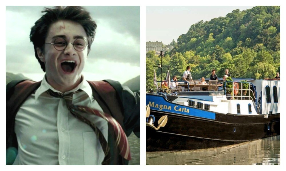 A Harry Potter themed cruise has launched