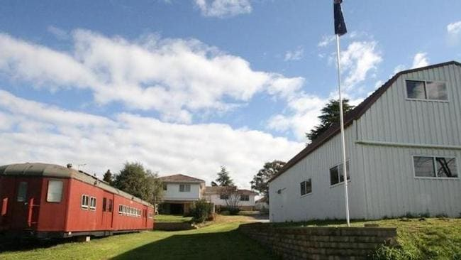 The red rattler takes pride of place at Orange in New South Wales. Picture: realestate.com.au