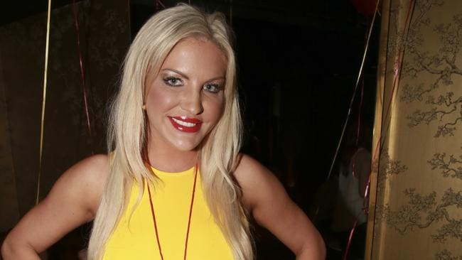 Brynne Edelsten spotted at Eve nightclub. Photo: Anthony Licuria/INFphoto.com