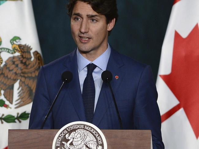 Canadian Prime Minister Justin Trudeau attacked the decision to appoint the controversial leader to a key role. Picture: Sean Kilpatrick/The Canadian Press via AP