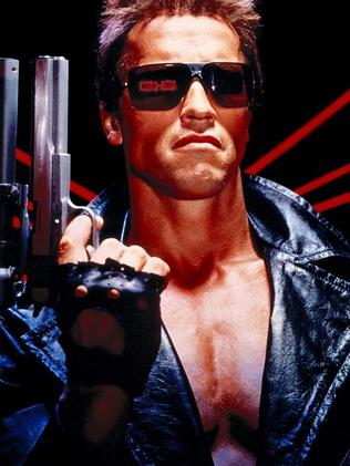 One of Arnold Schwarzenegger's best-known action roles is as The Terminator. Picture: Hemdale Film Corporation