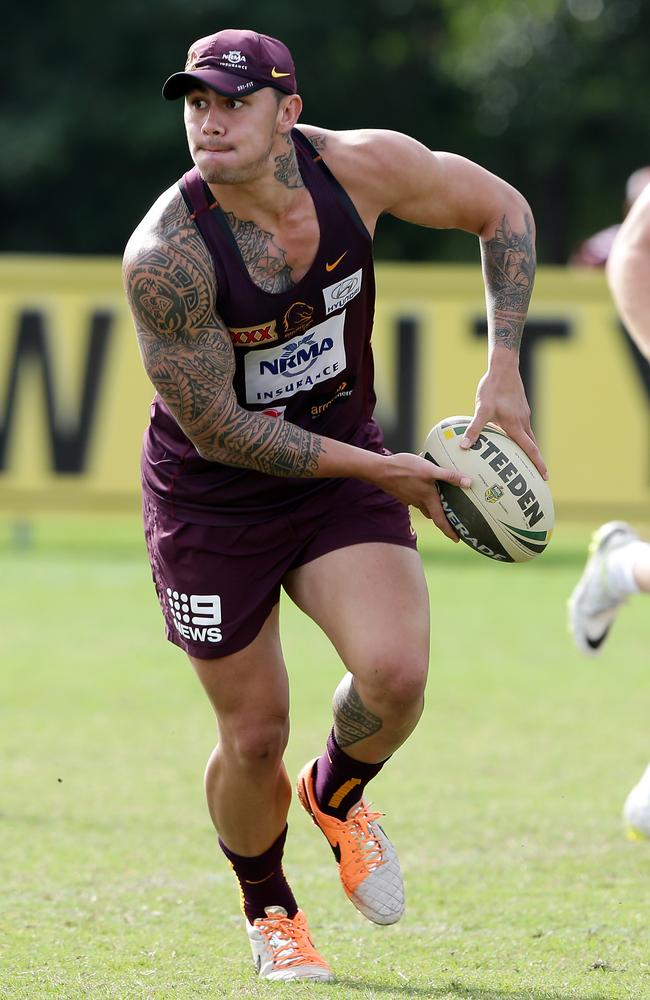 Daniel Vidot at training.