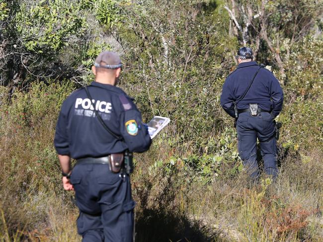 A search is underway in Sydney's northwest for the body of a murdered baby.