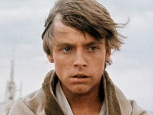 Supplied Editorial Star Wars - Episode IV A New Hope. Actor Mark Hamill as Luke Skywalker in a 1977 movie still. Pic