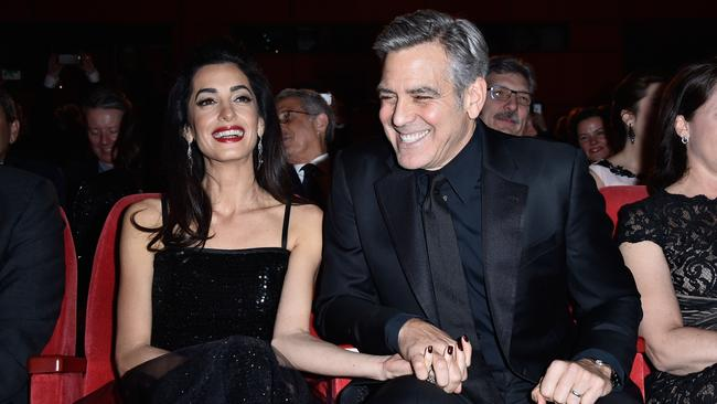At the Hail, Caesar! premiere in Berlin earlier this month. Picture: pascal Le Segretain/Getty Images.