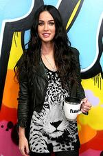 <p>Actress Megan Fox attends Fuse's 'No. 1 Countdown' at fuse Studios on June 26, 2009 in New York City.</p>