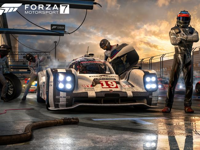 Forza 7 is definitely a candidate for game of the year.