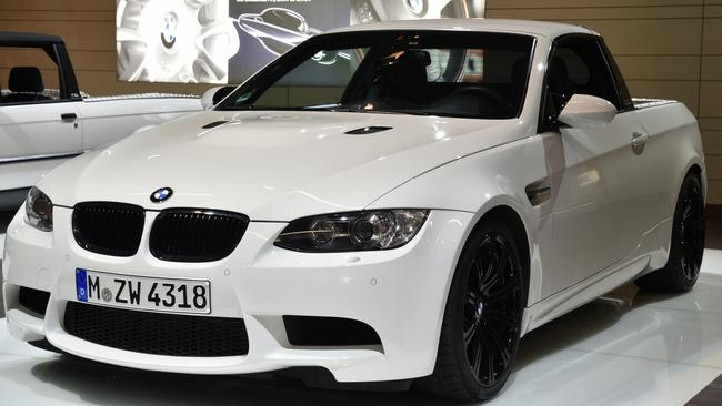 BMW has flirted with the idea of a trayback before. Pic: Supplied.