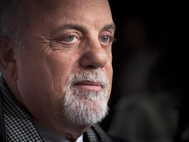 Confession ... Billy Joel says he started drooling while high on heroin in the 1970s. Picture: AP