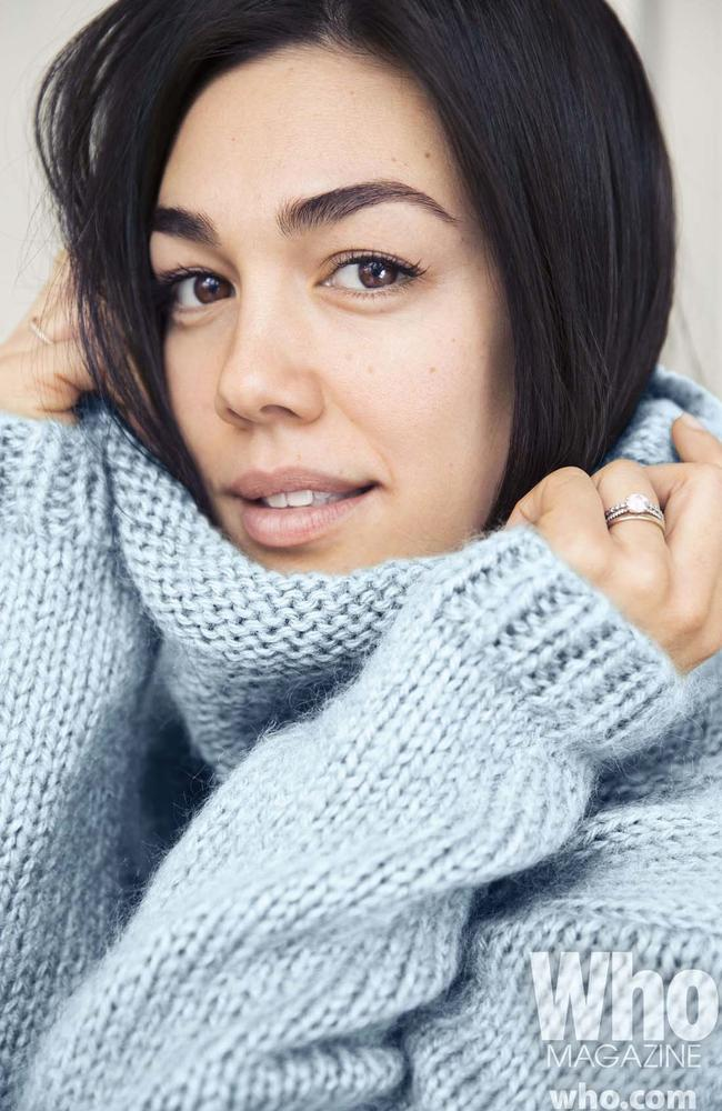 <i>Winners and Losers</i>' Melanie Vallejo appears in the no-makeup issue.