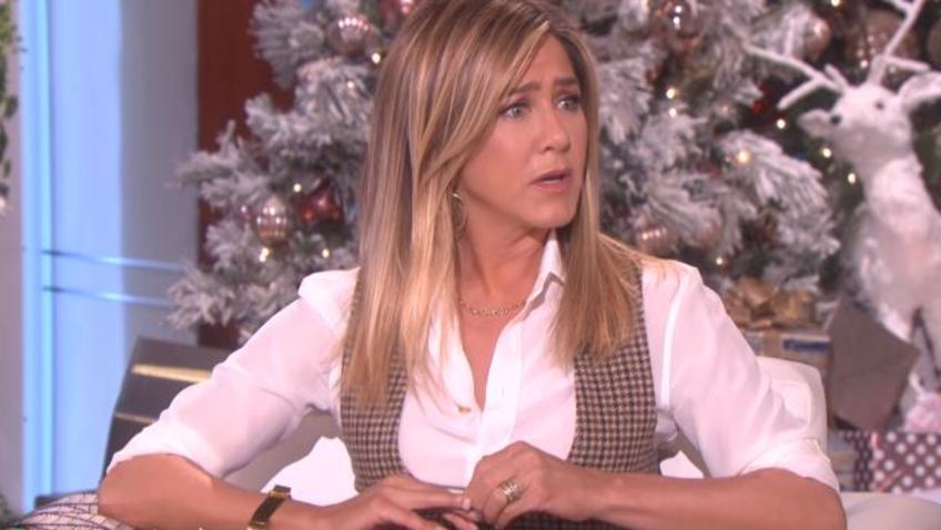 Jennifer Aniston tells Ellen DeGeneres why she wrote her now-famous essay slamming tabloids.
