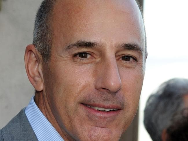 "Matt Lauer: ""I regret that my shame is now shared by the people I cherish dearly,"" he said. Picture: AFP."