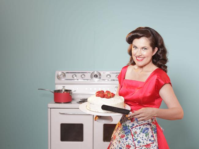 Annabel Crabb in Kitchen Cabinet. Picture: ABC