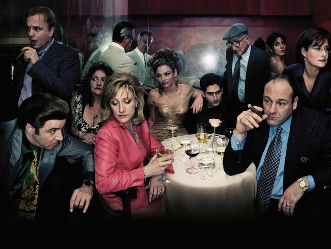 Great cast ... The Sopranos.
