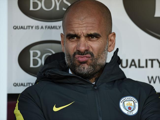 Manchester City's Spanish manager Pep Guardiola enjoyed unparalleled success with Barcelona.