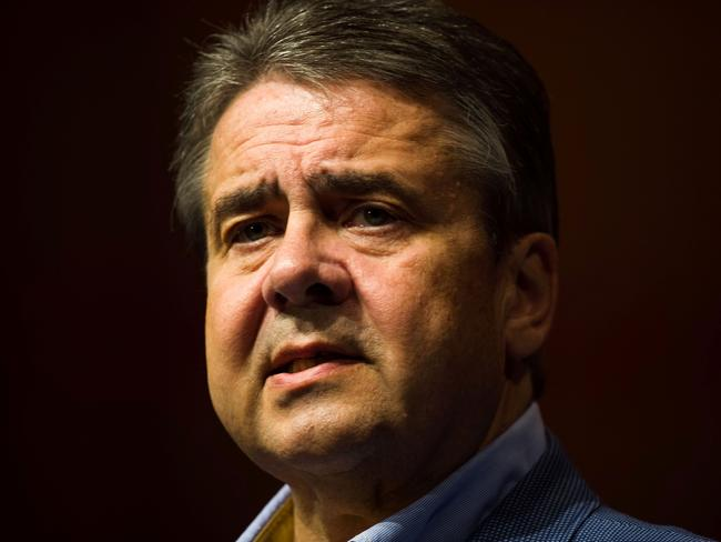 Foreign Minister Sigmar Gabriel. Picture: AFP