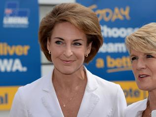 "Focused ... Assistant Minister for Women Michaelia Cash says the Federal Government will take a ""zero tolerance approach"" to domestic violence. Picture: News Corp Australia."