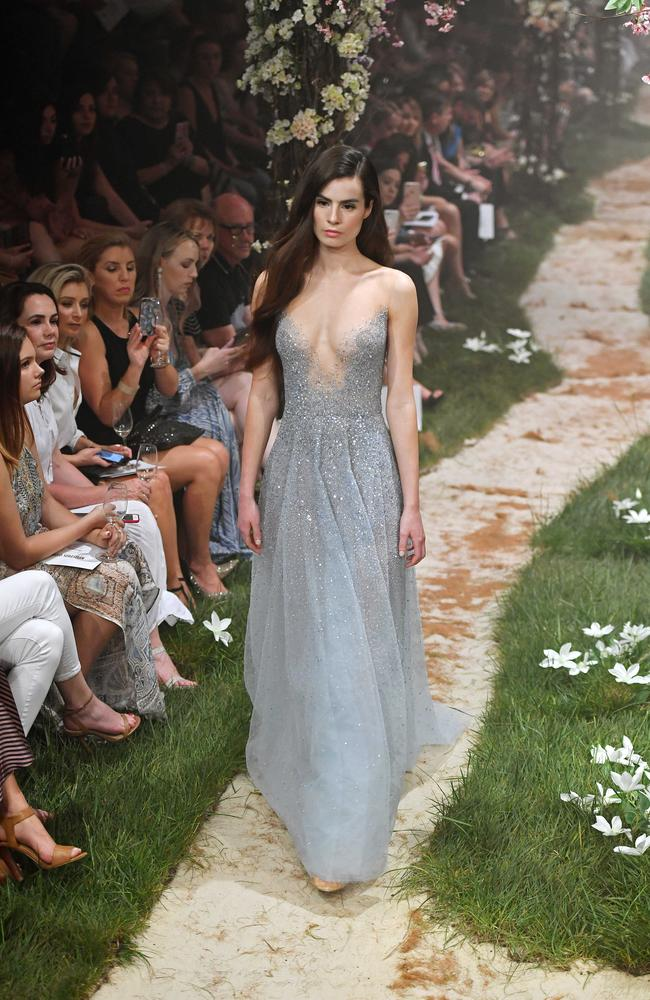 The Paolo Sebastian show was the finale for the Adelaide Fashion Festival. Picture: Tom Huntley