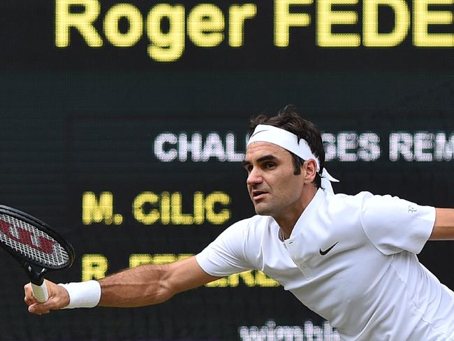Roger Federer has elevated even higher into the grand slam stratosphere.