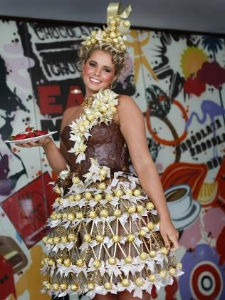 Chocolate Dress Unveiled At Aussie Easter Fashion Show