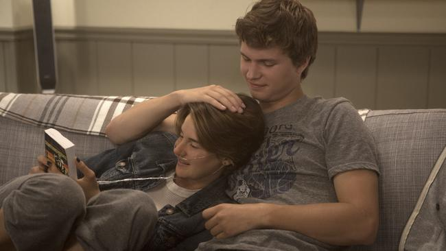 Shaine Woodley in a scene from  <i>Fault In Our Stars</i>