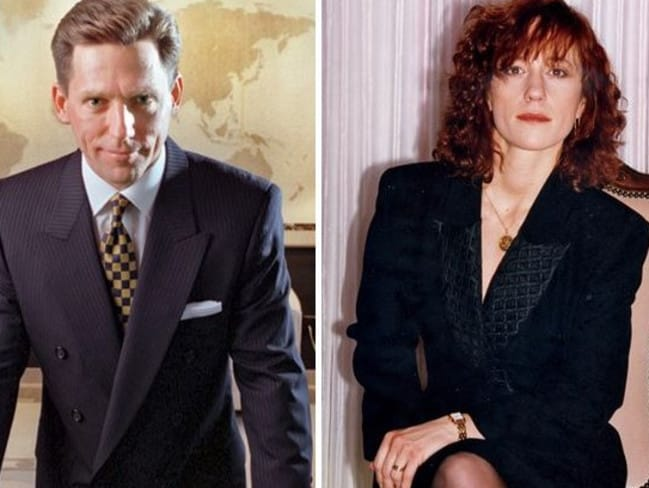 Church leader David Miscavige (left). His wife, Michele 'Shelly' Miscavige, allegedly vanished in August 2005. Pictures: australscope; Claudio and Renata Lugli