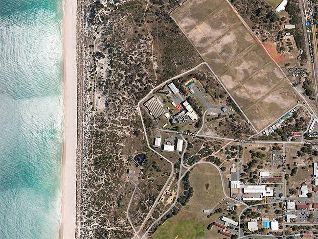 Top secret sites: Campbell Barracks in Swanbourne, the base of the Australian Special Air Service. Photo: Google Earth