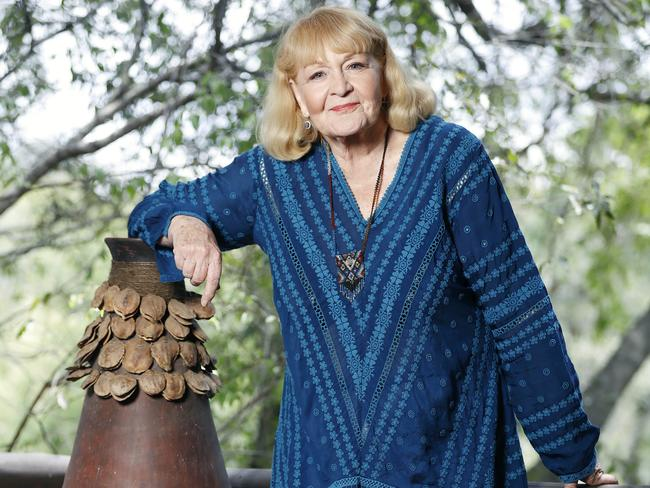 Val Lehman is up for the adventure in the new series of I'm A Celebrity … Get Me Out Of Here! Picture: Network Ten/ITV Studios