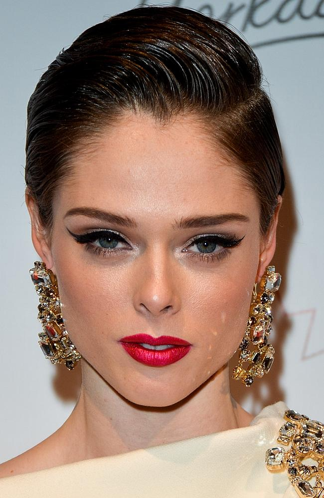 Model Coco Rocha at the 1st Annual Canadian Arts and Fashion Awards.