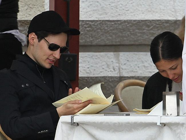 Pavel Durov pictured in Moscow.