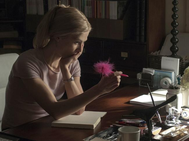 Rosamund Pike in a scene from Gone Girl. Picture: AP Photo/20th Century Fox, Merrick Morton