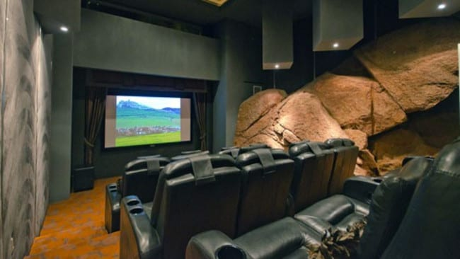 Camelback Mountain, Arizona. Rock out in the home theatre. Picture: HomeAway.com.au