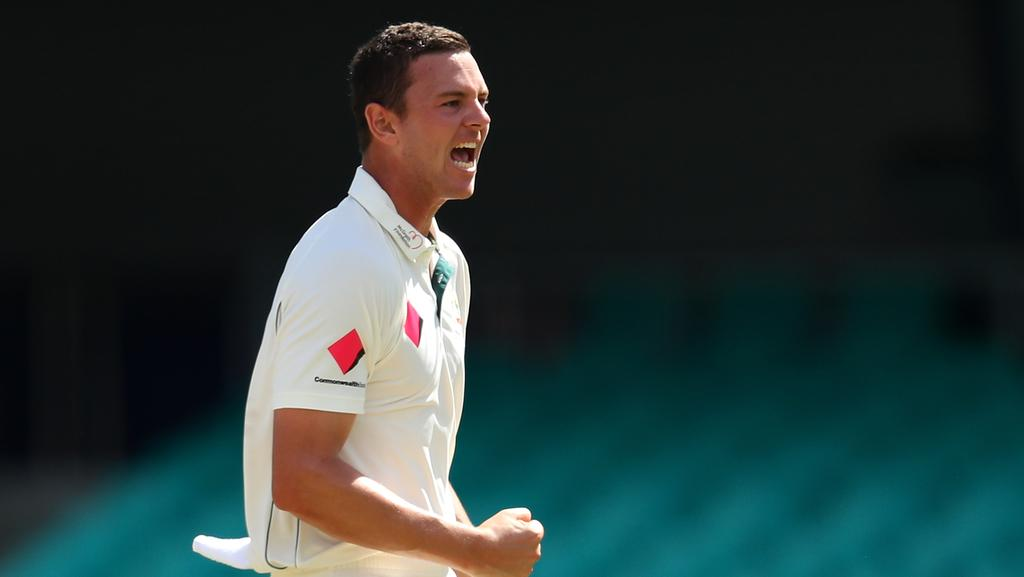 Josh Hazlewood sits third on the International Cricket Council's Test bowler rankings.