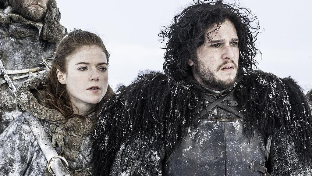 Star-crossed lovers Jon Snow and Ygritte. Picture: HBO