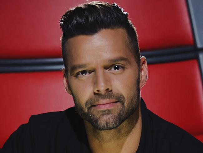 Re-inspired ... Ricky Martin says working with young artists has helped revive his passion for music.