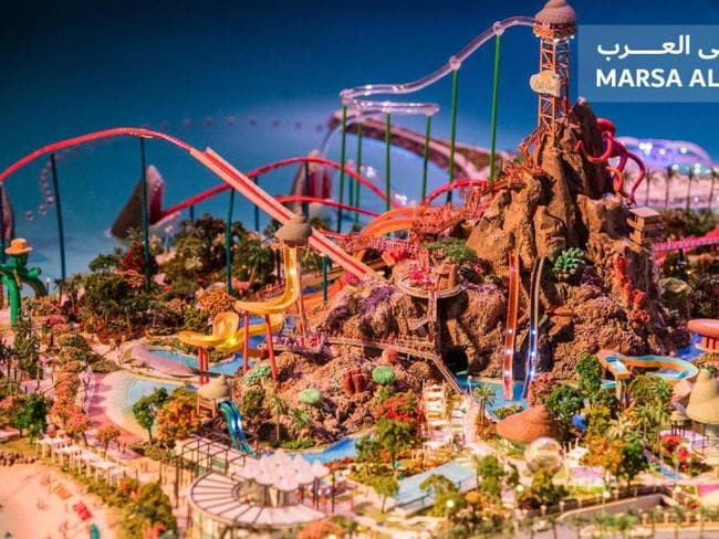 Wild Wadi Waterpark will be relocated closer to the beach, with new family rides and attractions. Picture: Dubai Holding