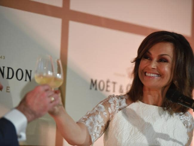 Former Today host Lisa Wilkinson made light of her headline-making week. Picture: Dean Lewins/AAP