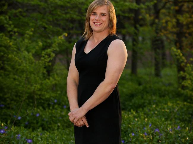 Hannah Mouncey had a great year with Ainslie.