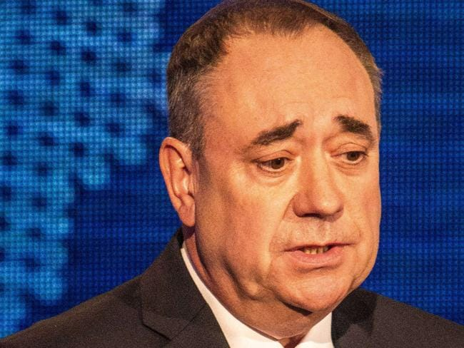 "Bewildered ... Scotland's First Minister Alex Salmond said the Australian PM had ""put his foot in it"". Picture: Peter Devlin"