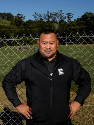 Koniseti Liutai NSW's Blue security guard who has been in Camp with the team.
