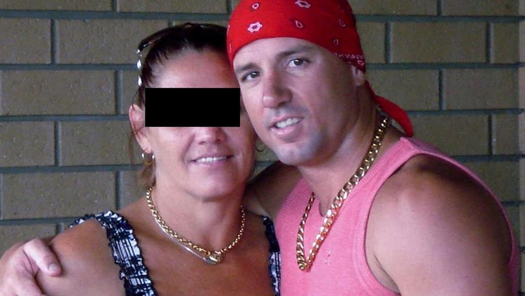 Paroled 'Railway Rapist' Troy Allen Burley with his current girlfriend.