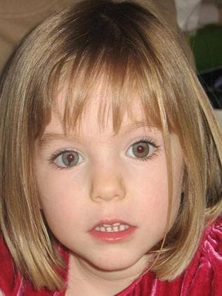 The cell wall notes about Madeleine McCann who vanished in 2007 and William Tyrell were written by paedophile Sonny Day, 60. Picture: Supplied.