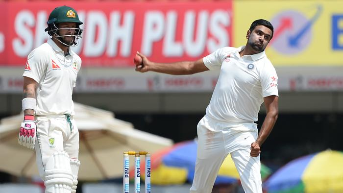 Ravichandran Ashwin took 1-114 in the first innings.
