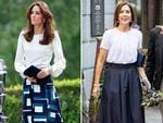 Catherine, Duchess of Cambridge attends the launch of the Heads Together campaign to eliminate stigma on mental health at the Queen Elizabeth Olympic Park on May 16, 2016 in London, England. Picture:Getty ... Crown Princess Mary of Denmark attend the opening of the National Care Center on August 29, 2017 in Copenhagen, Denmark. Picture: Getty